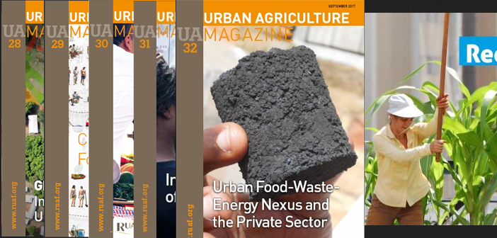 UAM 32: Urban food-waste-energy nexus and the private sector
